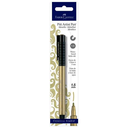 Faber-Castell - Pitt Artist Pen - Metallic - Gold