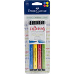 Faber-Castell - Mix and Match Collection - Pitt Artist Pens - Lettering - Primary - 4 Piece Set
