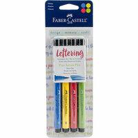 Faber-Castell - Pitt Artist Pens - Lettering Set - Primary