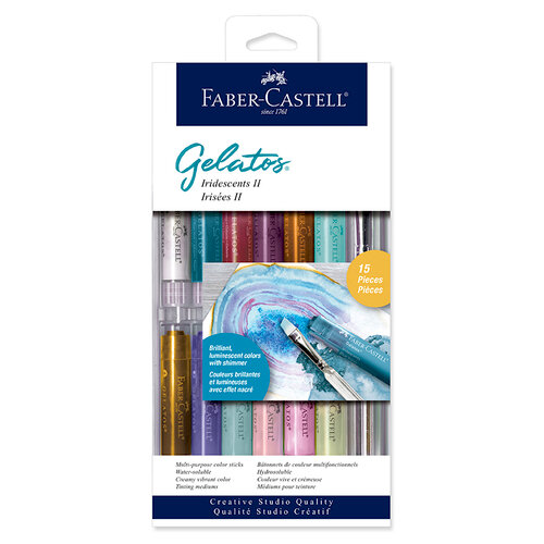 Faber-Castell - Color Gelatos - Iridescents II - 15 Piece Set