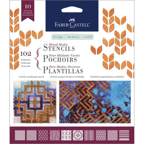 Faber-Castell - Mix and Match Collection - Mixed Media Stencils - Classic