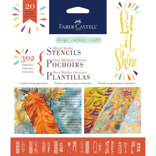 Faber-Castell - Mixed Media - Stencils - Faith