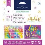 Faber-Castell - Mixed Media - Stencils - Inspiration