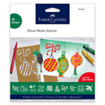 Faber-Castell - Mix and Match Collection - Mixed Media Stencils - Holiday