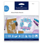 Faber-Castell - Mix and Match Collection - Mixed Media Stencils - Winter