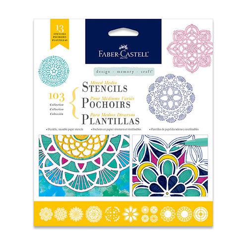 Faber-Castell - Mixed Media - Stencils - Mandala