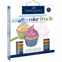 Faber-Castell - Getting Started Watercolor Pencils - 26 Pieces