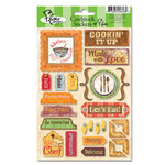 Flair Designs - Keep on Cooking Collection - Cardstock Stickers - Keep On Cooking
