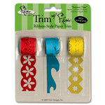 Flair Designs - Trim with Flair - Self Adhesive Paper Trim - Summer Time, CLEARANCE