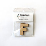 Foundations Decor - Wood Crafts - Wood Letters - F