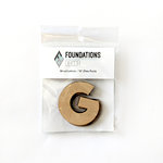 Foundations Decor - Wood Crafts - Wood Letters - G