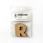 Foundations Decor - Wood Crafts - Wood Letters - R