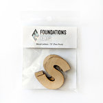 Foundations Decor - Wood Crafts - Wood Letters - S
