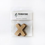 Foundations Decor - Wood Crafts - Wood Letters - X