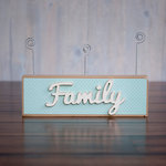 Foundations Decor - Family Collection - Wood Crafts - Word - Family