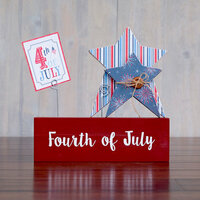 Foundations Decor - 4th of July Collection - Vinyl - Fourth of July Sticker