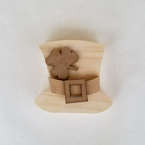 Foundations Decor - Home Collection - Wood Crafts - March - Leprechaun Hat
