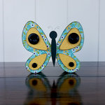Foundations Decor - Home Collection - Wood Crafts - May - Butterfly