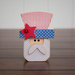 Foundations Decor - Home Collection - Wood Crafts - July - Uncle Sam