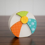 Foundations Decor - Home Collection - Wood Crafts - August - Beach Ball