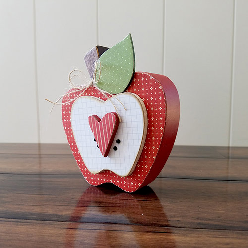 Foundations Decor Home Apple September Wood Crafts