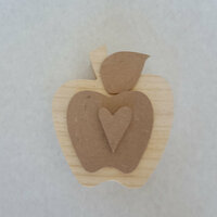 Foundations Decor - Home Collection - Wood Crafts - September - Apple