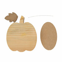 Foundations Decor - Home Collection - Wood Crafts - November - Pumpkin