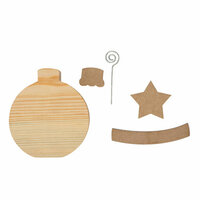 Foundations Decor - Home Collection - Christmas - Wood Crafts - December - Ornament