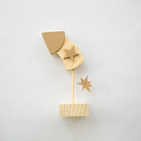 Foundations Decor - 4th of July Collection - Wood Crafts - July - Curved Rocket