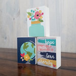 Foundations Decor - Wood Crafts - Block - 3 x 4