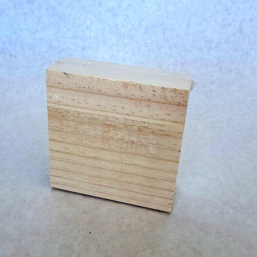 Foundations Decor - Wood Crafts - Block - 4 x 4