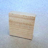 Foundations Decor - Wood Crafts - Block - 4 x 4