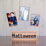 Foundations Decor - Halloween Collection - Wood Crafts - Word - Halloween