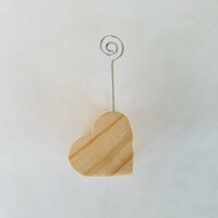 Foundations Decor - Wood Crafts - Place Card Holder - Valentines