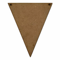 Foundations Decor - Wood Crafts - Banner - Hanging Pennant