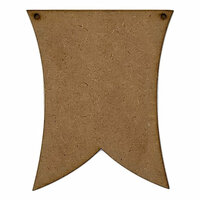 Foundations Decor - Wood Crafts - Banner - Double Point