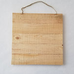 Foundations Decor - Wood Crafts - Rough Cut Slat Sign - 12 x 12