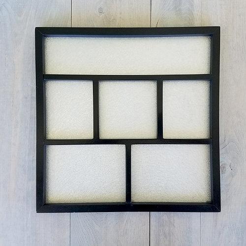 Foundations Decor - Magnetic Shadow Box - Black