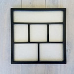 Foundations Decor - Magnetic Shadow Box - Black