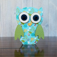Foundations Decor - Autumn Collection - Wood Crafts - Owl