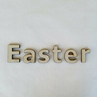 Foundations Decor - Easter Collection - Wood Crafts - Word - Easter