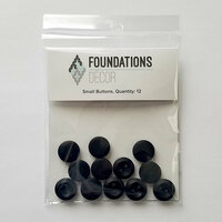 Foundations Decor - Buttons - Small - Black