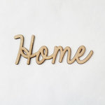 Foundations Decor - Wood Crafts - Connected Words - Home - Smooth Font