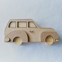 Foundations Decor - Autumn Collection - Wood Crafts - Vintage Car