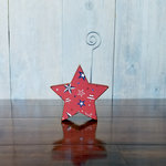 Foundations Decor - Wood Crafts - Place Card Holder - Star
