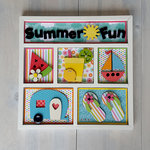 Foundations Decor - Summer Fun Shadow Box Kit