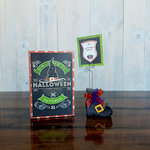 Foundations Decor - Wood Crafts - Place Card Holder - Halloween