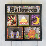 Foundations Decor - Halloween Shadow Box Kit