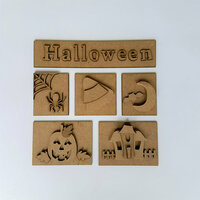 Foundations Decor - Halloween Kit for Shadow Box