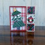Foundations Decor - Christmas Collection - Wood Crafts - Christmas Blocks